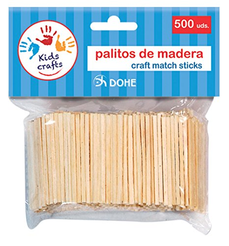 DOHE 18106 – pak van 500 houten stokjes.
