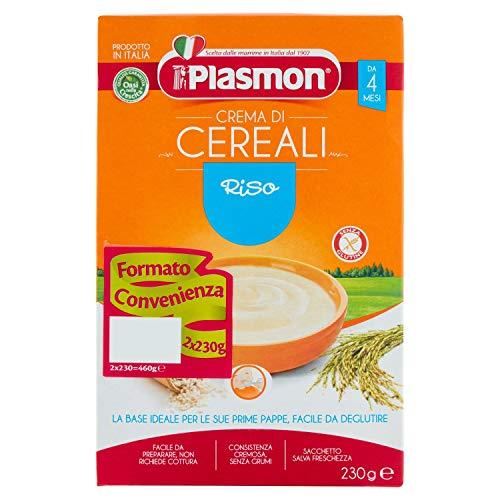 Plasmon Crema di Cereali - Riso, 2 x 230 g