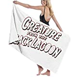 XCNGG Black LagOon5 Toallas de Playa Microfibra Manta Absorbente súper Suave para Adultos Mujeres Hombres