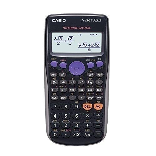 Casio FX 83 GT Plus - Casio FX 83 (82) aus der ES-Serie + Anlegehilfe