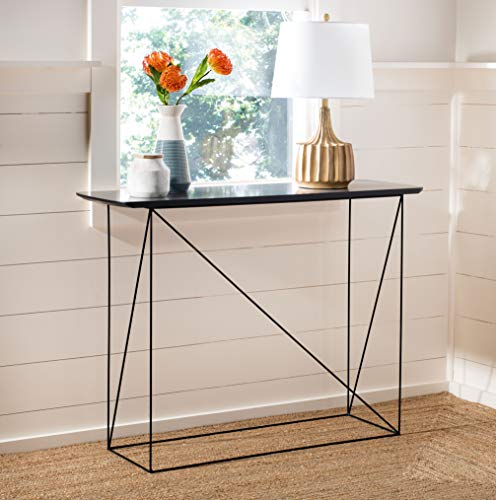 Safavieh Home Rylee Grey and Black Console Table