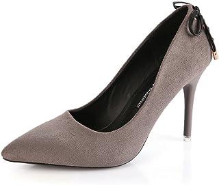 Chaussures Femme CXY Chaussures à Talons Hauts à la Mode avec des Talons Hauts à Talons Hauts Pointus Pointus des Chaussures Creuses,Une,36