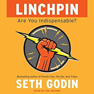 Linchpin audiobook cover art