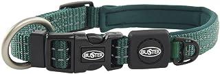 "Kruuse 3/4"" Buster Neoprene Dog Collar Adjustable (17-22""), Medium, Green"