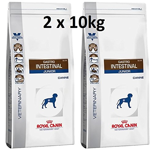 Royal Canin Veterinary Diet Canine Gastro Intestinal Junior GIJ 29 2 x 10 kg