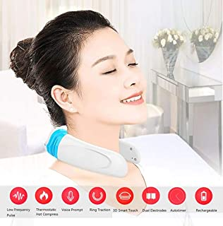 Indoor Ultima Intelligent Neck Massager,Electric Wireless Back Shoulder Massager with Heat, shiatsu Neck Massager with Voice Control (Set of 4)