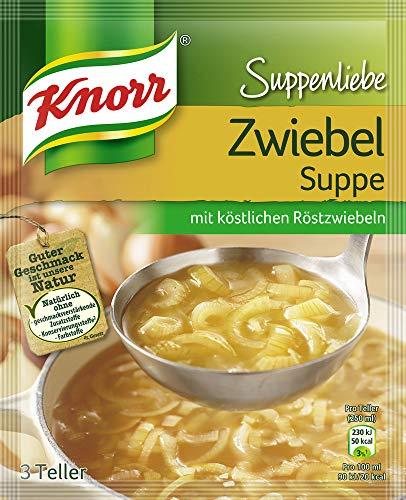 Knorr Suppenliebe Zwiebelsuppe, 15 x 3 Teller (15 x 46g)