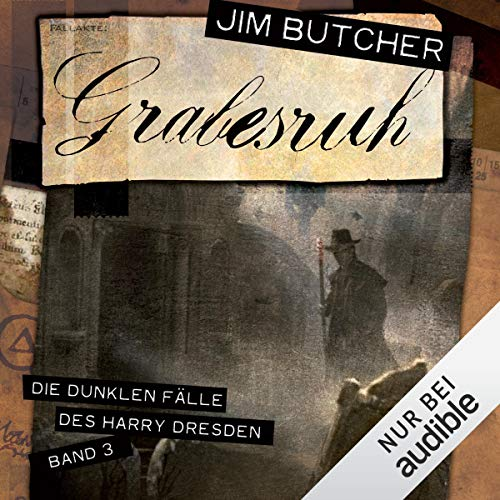Grabesruh audiobook cover art