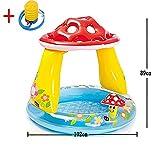 BTTHWR Pilz-Baby-Pool, 40' x 35', für Kinder ab 1-3