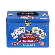 Super Duper Publications Set of 7 Webber Articulation Card Decks (Combo Set 2) Educational Learning Resource for Children