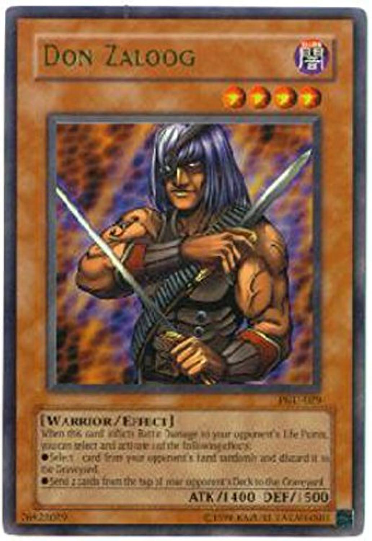 Yu-Gi-Oh  - Don Zaloog (PGD-029) - Pharaonic Guardian - Unlimited Edition - Ultra Rare by Yu-Gi-Oh  B0062E01GG Abgabepreis  | Eine Große Vielfalt An Modelle 2019 Neue