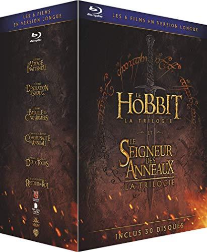 Le Hobbit et le Seigneur des Anneaux, Les Trilogies - Versions Longues - Blu-Ray