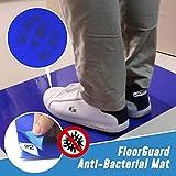 Tappetino anti-batterico antibatterico 60/90 pezzi per protezione pavimento, tappetini stretti rimovibili per camera bianca (per uso domestico/laboratori/studi medici) (90 pezzi, (60 * 90))