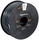 AmazonBasics 3D-Drucker-Filament aus ABS-Kunststoff, 2,85 mm, Dunkelgrau, 1-kg-Spule