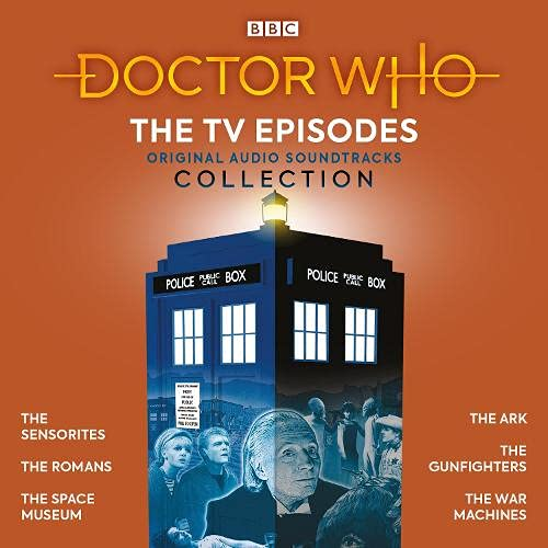 Doctor Who: The TV Episodes Collection cover art