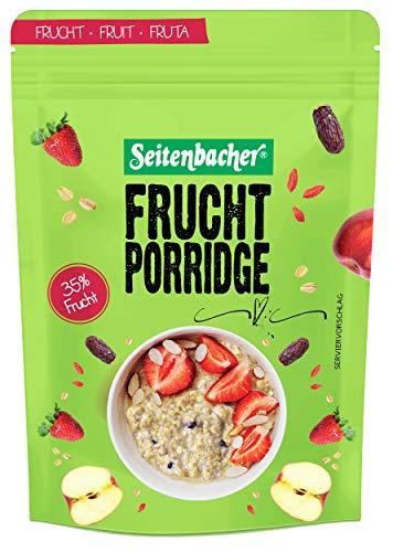Seitenbacher Frucht Porridge - Dein warmes Frühstück, 2er Pack (2 x 500 g)