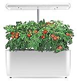 Kit de jardin intérieur intelligent, cultivateur hydroponique avec lampe à LED, boîte de système hydroponique intelligent à spectre complet, pot de jardin intérieur, lampe de culture pour la cuisine à