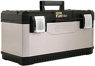 STANLEY FATMAX 1-95-615 - Caja de herramientas metálica FatMax, 50 x 31 x 30 cm