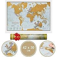 Scratch the World travel 42 x 30 cm
