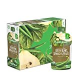 Happy Baby Organic Clearly Crafted Stage 2 Baby Food Green Beans, Pears & Spinach, 4 Ounce Pouch...