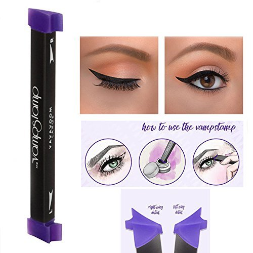 Zeuxs Eyeliner-Stempel, für flüssigen Eyeliner, mit Make-up-Bürste, Set, einfache Anwendung, SET M