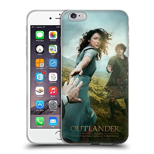 Head Case Designs Licenza Ufficiale Outlander Stagione 1 Poster Arte Chiave Cover in Morbido Gel Compatibile con Apple iPhone 6 Plus/iPhone 6s Plus