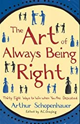 Books to read while traveling | The Art of Always Being Right, by Arthur Schopenhauer