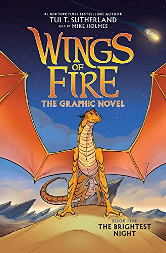 The Brightest Night (Wings of Fire Graphic Novel #5): A...