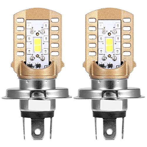 LED-autolamp RTD M11J-H4 8 W vervanging COB LED-lamp voor scooters