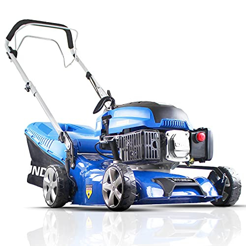Hyundai HYM430SP 4-stroke Petrol Lawn Mower Self Propelled 139 Cc 42cm Cutting Width