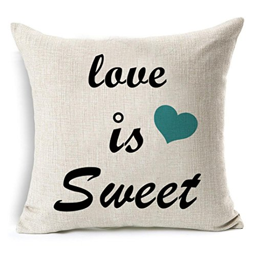 Pillow Cases,IEason Clearance Sale! Fashion Sofa Bed Home Decoration Festival Pillow Case Cushion Cover (C)