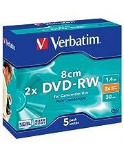 Verbatim 43514 - DVD-RW regrabables (5 Unidades)
