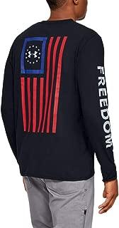 Men's Freedom New Flag Long-Sleeve T-Shirt