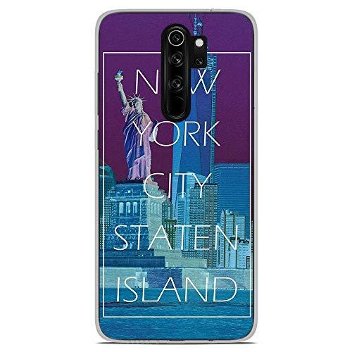 1001carcasas de silicona para Xiaomi Redmi Note 8 Pro - Nueva York