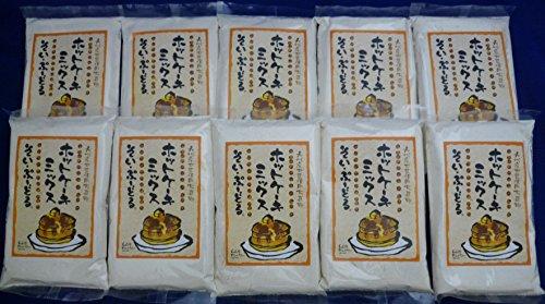 【そい・ぷーどるホットケーキミックス】大豆粉+小麦粉200g×10袋(2kg)