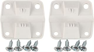 GETIT Coleman Cooler Accessory Replacement Hinges and Screws,Set of 2
