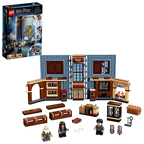 LEGO76385HarryPotterMomentoHogwarts:ClasedeEncantamientos,LibrodeJugueteColeccionable,SetPortátil,EstuchedeViaje
