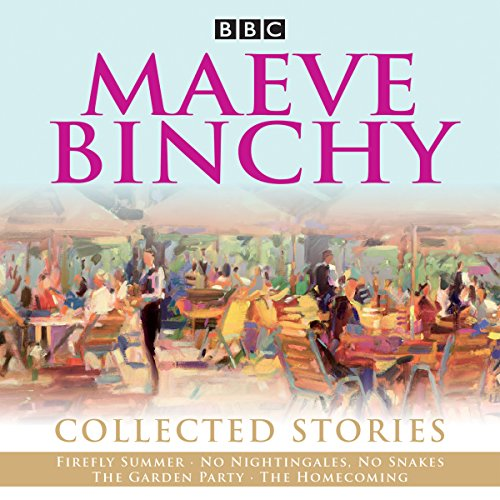Maeve Binchy: Collected Stories     Collected BBC Radio adaptations              By:                                                                                                                                 BBC Radio Comedy                               Narrated by:                                                                                                                                 David Soul,                                                                                        full cast,                                                                                        Niamh Cusack                      Length: 5 hrs and 54 mins     1 rating     Overall 5.0