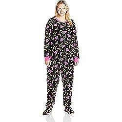 DC Comics Women's Ladies One Piece Pajama Superhero Plus