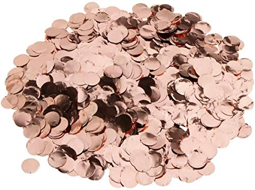hsj Spielzeug Rose Gold Metalic Foil Funkelnde Round Table Confetti Scatter Hochzeitsdeko Exquisite Verarbeitung