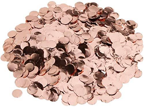 hsj LF- Spielzeug Rose Gold Metalic Foil Funkelnde Round Table Confetti Scatter Hochzeitsdeko Lernen