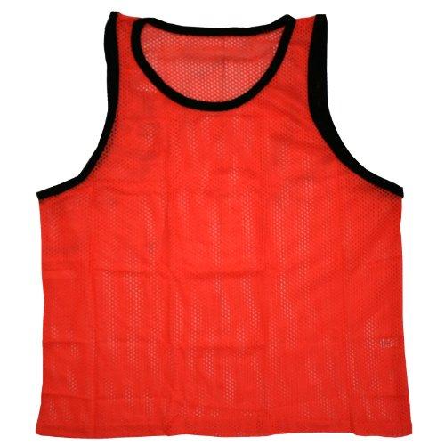 BlueDot Trading Youth Sports Pinnie Scrimmage Training Vest, Orange, 1...