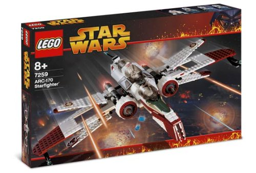 Lego Star Wars 7259 - ARC-170 - Starfighter