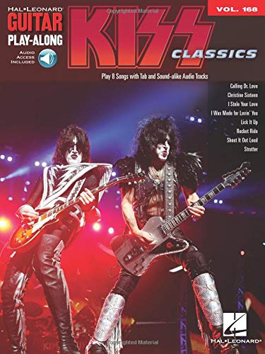 Guitar Play-Along Volume 168: Kiss: Noten, Play-Along für Gitarre