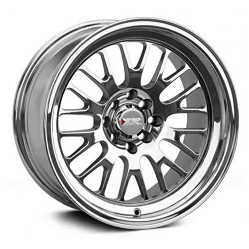 XXR Wheels 531 Platinum Wheel with Painted Finish (16 x 9. inches /4 x 100 mm, 0 mm Offset)