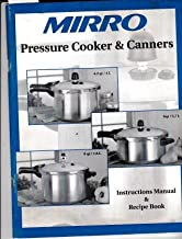 Mirro Pressure Cooker & Canner Instruction Manual & Recipe Book in English, Espanol & Francais