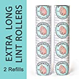 Mammoth Lint Roller- 2 Refill Pack, 90 Sheets per Roll, Perfect for Pets, Extra Large Lint Roller (180 Sheets Total)