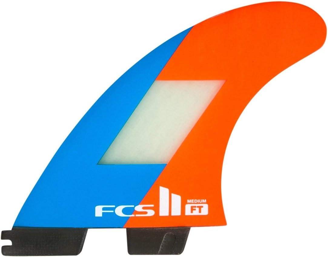 FCS II Filipe Toledo Tri Thruster Fin Set