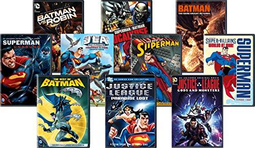 Ultimate DC Comics Collection 10 Movie - Batman vs. Robin/ Superman-Batman: Apocalypse/Superman: Unbound/ Justice League - The New Frontier & Trapped in Time/ Batman: The Dark Knight Returns P2