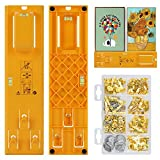 Picture Hanging Kit, HZONE Picture Frame Hanger Tool, 8 Pcs Picture Hanging Strips and 230 Pcs Assorments with...